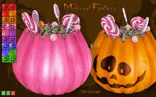 [MF] FREEBIE Halloween wearable pumpkin bucket (boxed)