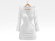 Salvadori - White 'Helena' Satin Suit Skirt