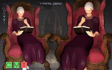 [MF] The noble reading and smoking grandma (boxed)