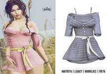 [Aleutia] Zara Dress - Navy
