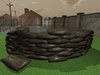 Military Barricade Curve - Mesh - Low Prim