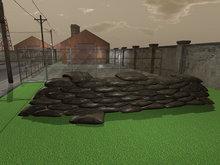 Military Barricade - Mesh - Low Prim