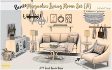 {OBD} Bento  Magnolia Living Room Set [A]