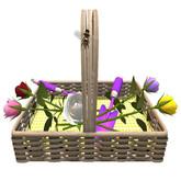 DFS Flowers - Rose Basket