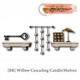 [BR] Willow Cascading Candle/Shelves/Decor