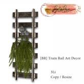 [BR] Train Rail Art Decor