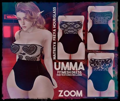 zOOm - Umma Dress HUD 5 Laces