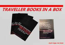 TRAVELLER BOOKS PILE