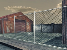 Chain fence Link - Mesh - 1 prim each