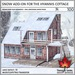 Trompe Loeil - Snow Add-On for the Hyannis Cottage [mesh]