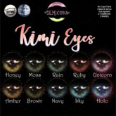 {Demicorn} Kimi Eyes - Moss
