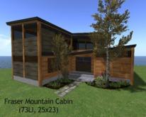 Fraser Mountain Cabin(73LI, 25x23)