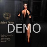 DEMO-Nala Designs.-Madame Darkness Outfit - Pearl Choker Dress