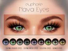 Euphorie - Nava Eyes - Catwa/Lelutka/Genus
