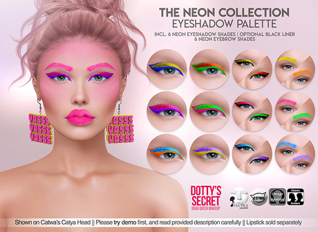 Dotty's Secret - The Neon Collection - Eyeshadow