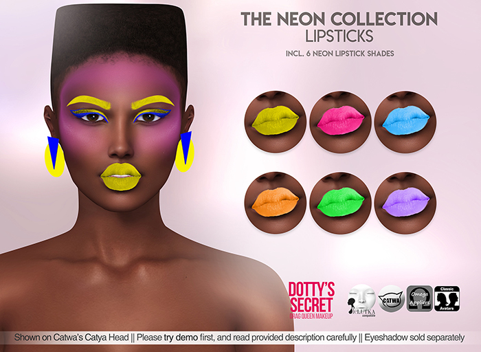 Dotty's Secret - The Neon Collection - Lipsticks