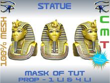STATUE - MASK OF TUTANKHAMUN
