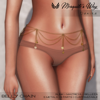 MW - Danika Belly Chain