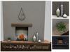 Mid Century Modern Fireplace Set