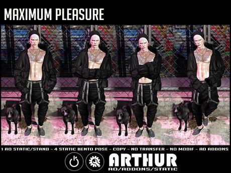 Maximum pleasure: AO Arthur