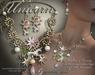 Fantasia Unicorn's Realm - Art Nouveau Necklace