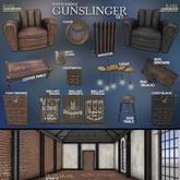 [Kres] Gunslinger Set - Wall art (Tequila)