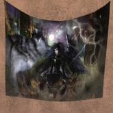 Demon Princess Tapestry