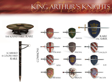 OLD TREASURES - KING ARTHUR Degore (REZZ) 9