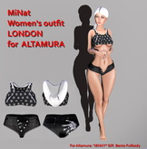 MiNat Women's outfit LONDON for  ALTAMURA