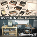 SIX OCLOCK VINTAGE ELECTRONICS 1940s FULL SET COMPLETE