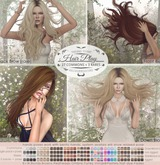 Tableau Vivant \\ Hairplay - Side Blow - Natural dye