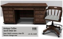 Jacob Desk Set - Coffee