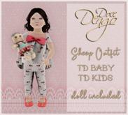 {D:D} Sheep Outfit/TD baby/TD kids vendor