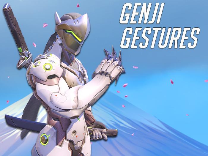 Genji Gestures