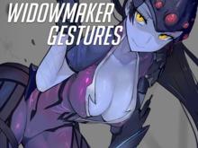 Widowmaker Gestures