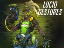 Lucio Gestures