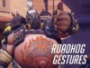 Roadhog Gestures