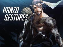 Hanzo Gestures
