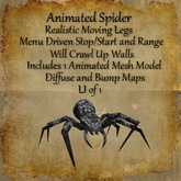 Bad Katz Animated Spider