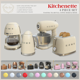 {what next} Kitchenette 4 Piece Set - Small Appliances