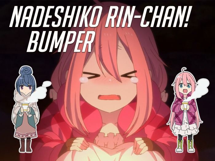 Yuru Camp Nadeshikos Rin-chan! Bumper