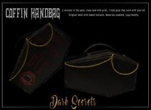 Dark Secrets - Coffin Handbag - Add box