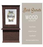 Dark Secrets - Wood Vendor - 1LI