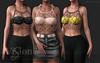 {ViSion} // Kora Fishnet Top - FATPACK - Maitreya, Legacy, Belleza Freya - Isis, Slink Hourglass