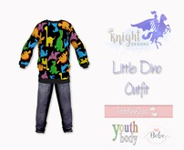 [KNIGHT DESIGNS] LITTLE DINO OUTFIT - BEBE, YOUTH AND TD