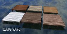 Decking - Wooden Square - Bergamot - 6 texture options