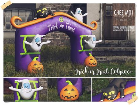 Trick or Treat Entrance ♥ CHEZ MOI