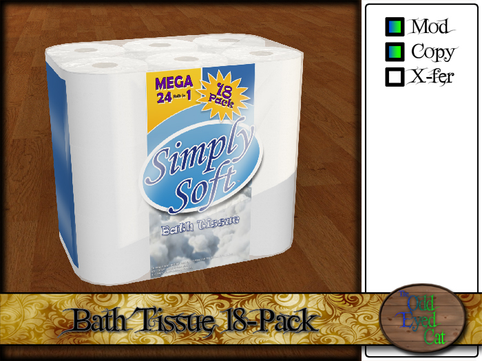 Simply Soft 18-Pack Bath Tissue / Toilet Paper