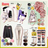 `M.BIRDIE / Zoey look. Bag5