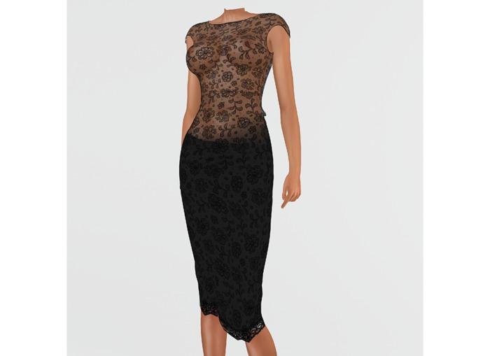 RAPTURE-Dress Arama-Raven